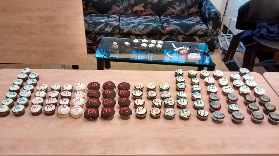 Mole Day Cupcakes!